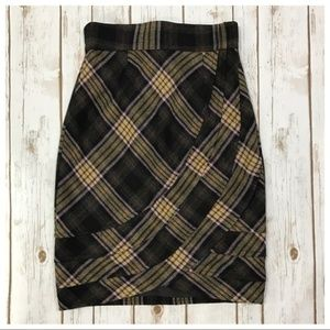 Plenty by Tracy Reese Easy Keeper Plaid Skirt